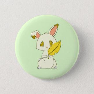 Badge Lapin ensoleillé