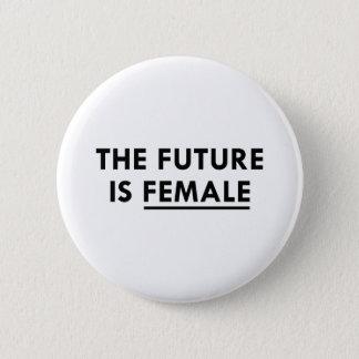 Badge L'avenir est femelle