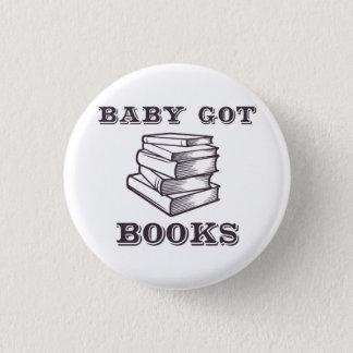 Badge Le bébé a obtenu des livres