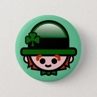Badge Le bouton de St Patrick heureux