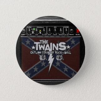 Badge Le bouton de TWAINS Dixie ampère !