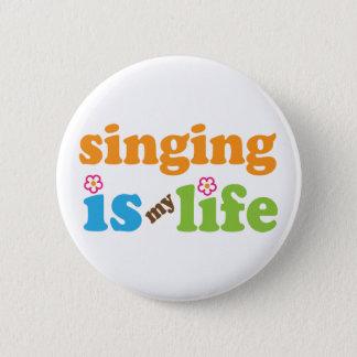 Badge Le chant mignon est ma vie