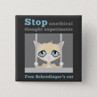 Badge Le chat de Schrodinger libre