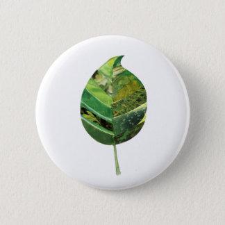 Badge Le ciel est bouton vert