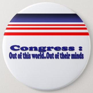 Badge Le congrès