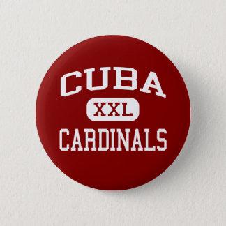 Badge Le Cuba - cardinaux - aîné - Cuba l'Illinois
