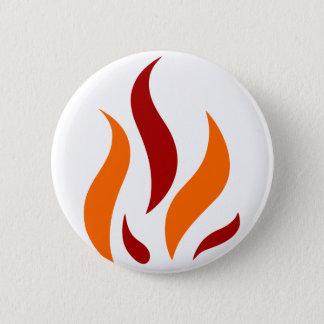 Badge Le Flamand parler oranges