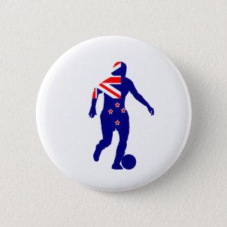 Badge Le football Nouvelle Zélande des femmes