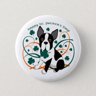 Badge Le jour de St Patrick heureux