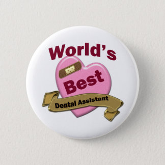 Badge Le meilleur assistant dentaire du monde