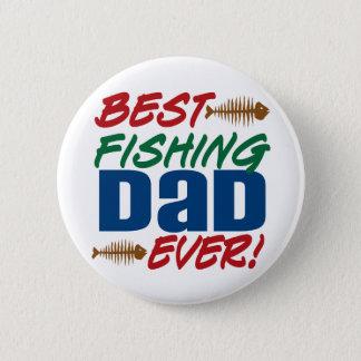Badge Le meilleur papa de pêche jamais !