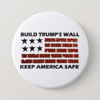 Badge Le mur de l'atout de construction