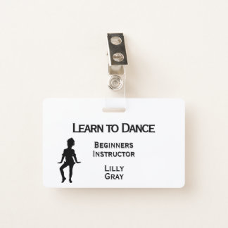 Badge Le petit double de danseur a dégrossi