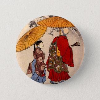 Badge Le poète Yacuren et un compagnon flânant