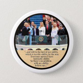 Badge Le Président Trump prend le serment