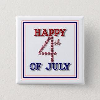 Badge Le quatrième de juillet tient le premier rôle le