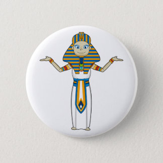 Badge Le Roi égyptien Button de pharaon