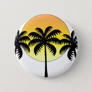 Badge le soleil de palmier