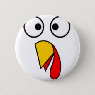 Badge Le thanksgiving Turquie font face au tee - shirt
