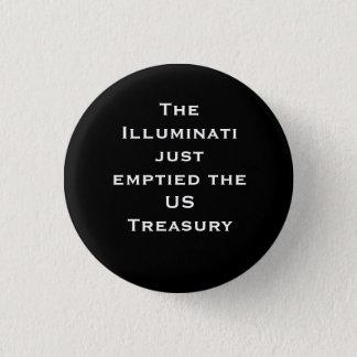 Badge Le trésor vidé de theUS d'Illuminati juste