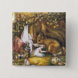 Badge L'écureuil blessé