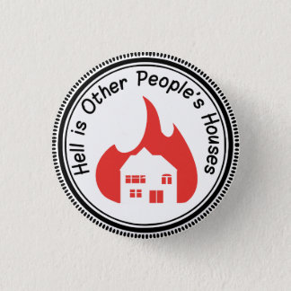 Badge L'enfer est le bouton des Chambres d'autres