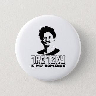 Badge Léon Trotsky est mon homeboy
