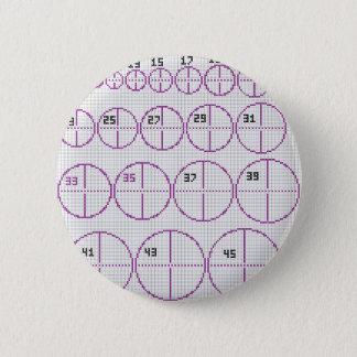 Badge Les cercles entoure partout