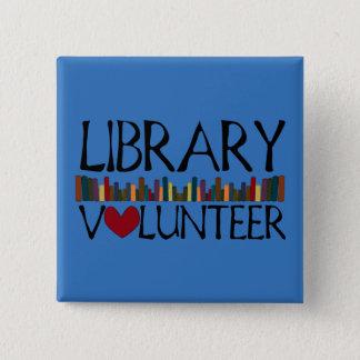 Badge Les livres volontaires de bibliothèque - changez