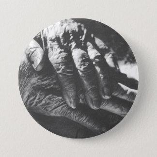 Badge Les mains de la grand-maman