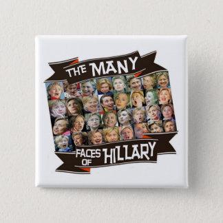 Badge Les nombreux visages de Hillary