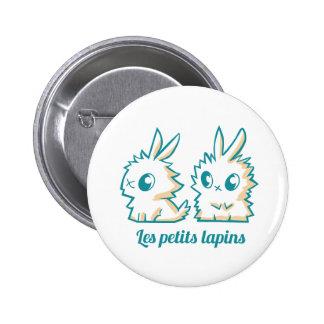 Badge Les petits lapins