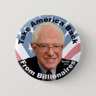 Badge Les ponceuses de Bernie rapportent le bouton de