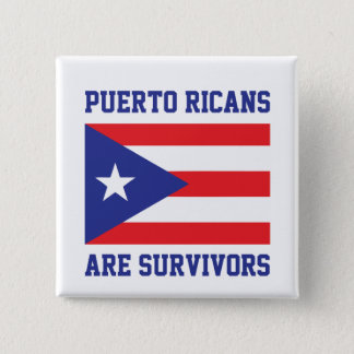 Badge Les Portoricains sont des survivants
