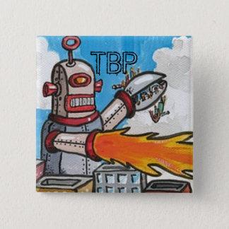 Badge Les robots de TBP sont votre bouton d'ami