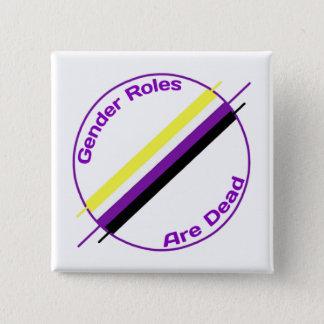Badge Les rôles de genre sont Pin mort