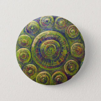 Badge Les roues (symbolisme géométrique religieux)