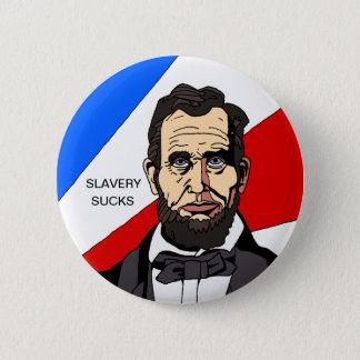 Badge L'esclavage suce le bouton