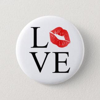Badge Lèvres d'amour