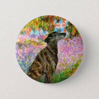 Badge Lévrier (Br2) - jardin