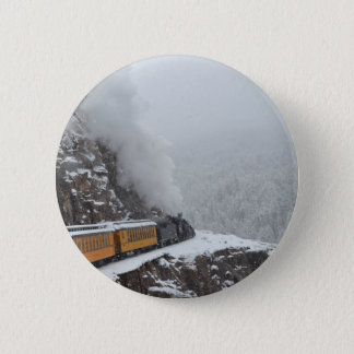 Badge L'express polaire arrondit la courbure