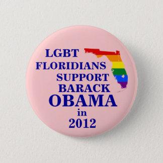 Badge LGBT Floridians pour Obama 2012