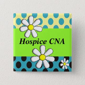 Badge L'hospice PEUT les marguerites Artsy de boutons