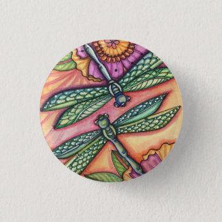 Badge libellule - bouton