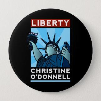 Badge Liberté d'Américaine de Christine O'Donnell 2010