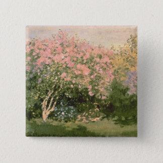 Badge Lilas de Claude Monet | au soleil, 1873