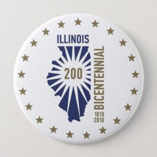 Badge L'Illinois 1818-2018 bicentenaire