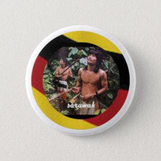 Badge L'indigène nomade de l'île du Bornéo