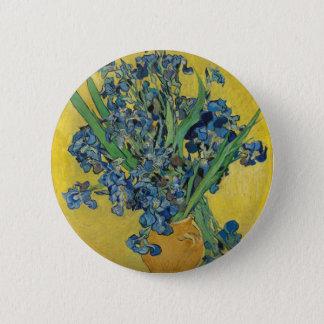 Badge L'iris de Van Gogh