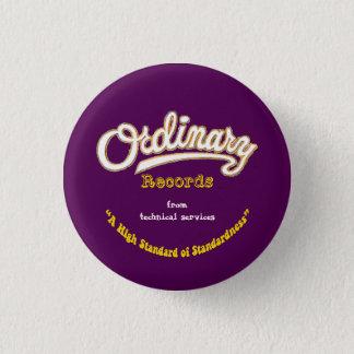 Badge L'ordinaire enregistre le bouton (le jaune)
